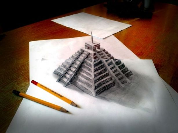 Desenhos-3D-Ramom-Bruin-Pirâmide