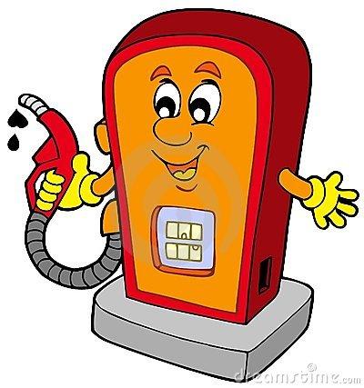 posto-de-gasolina-dos-desenhos-animados-12804810
